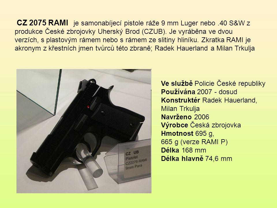Pistole vz. 82 je kompaktní samonabíjecí pistole, která byla vyráběna pro Československou armádu. Civilní verze je značena CZ 83 a byla určena předevš