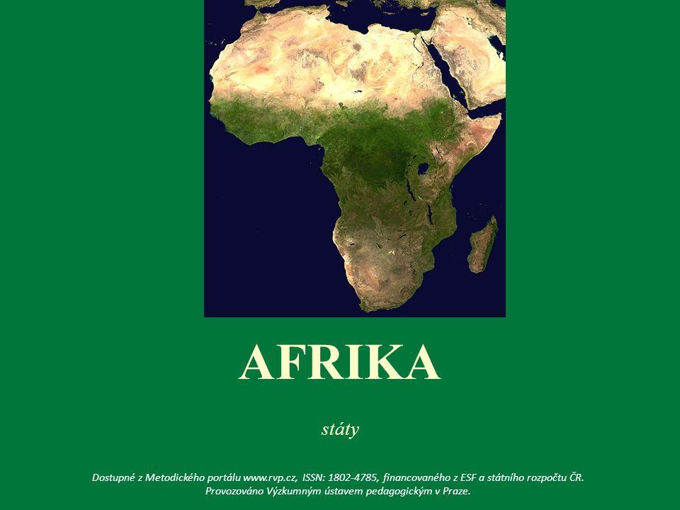 10. Který stát se nachází ve vyznačené oblasti Afriky? MADAGASKAR ZANZIBAR MAURITÁNIE ERITREA