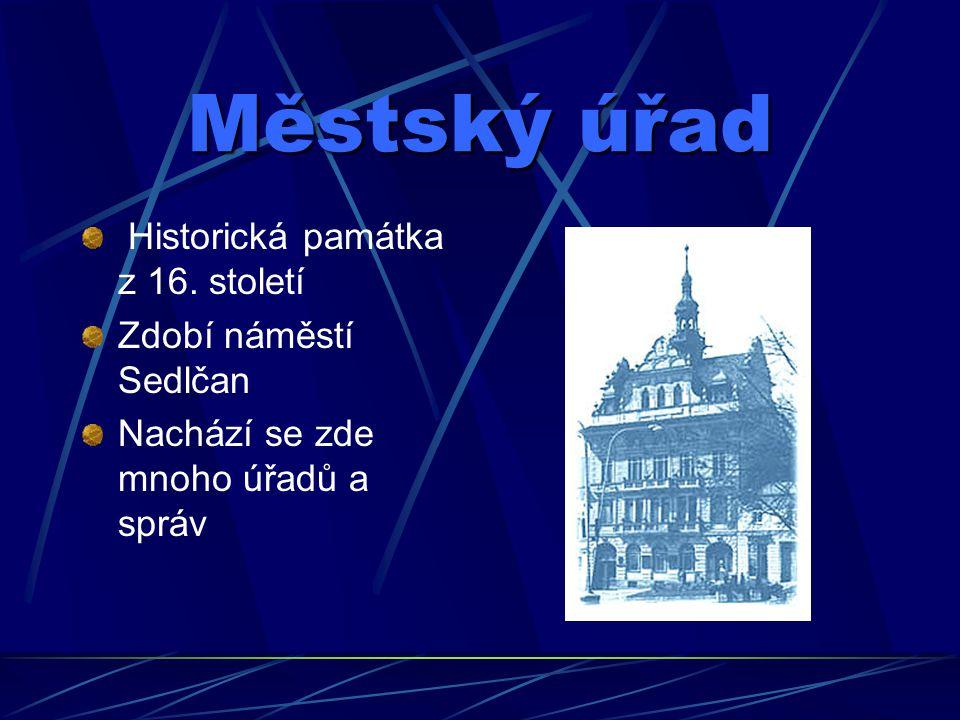 Poloha Sedlčan Sedlčany leží ve středních Čechách Nachází se 60 km od Prahy