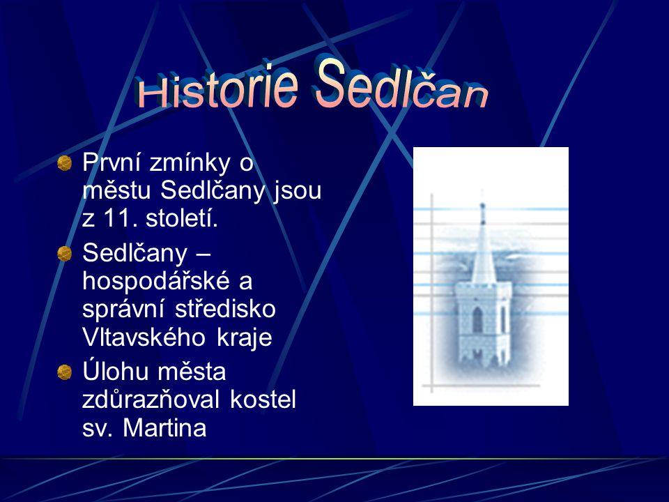 Sedlčanský znak