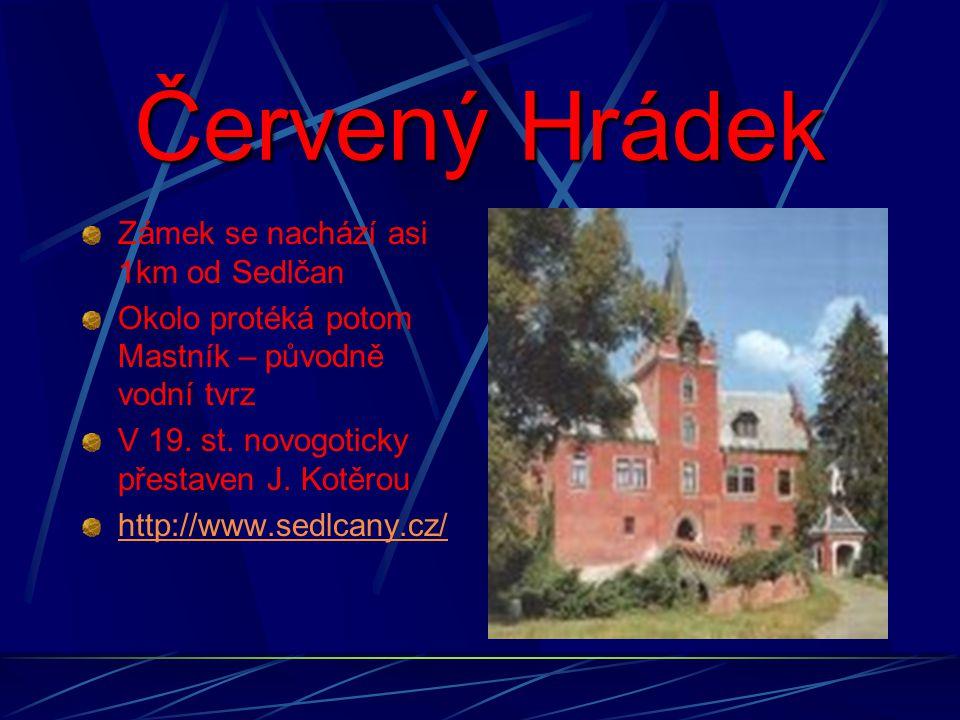 První zmínky o městu Sedlčany jsou z 11.století.