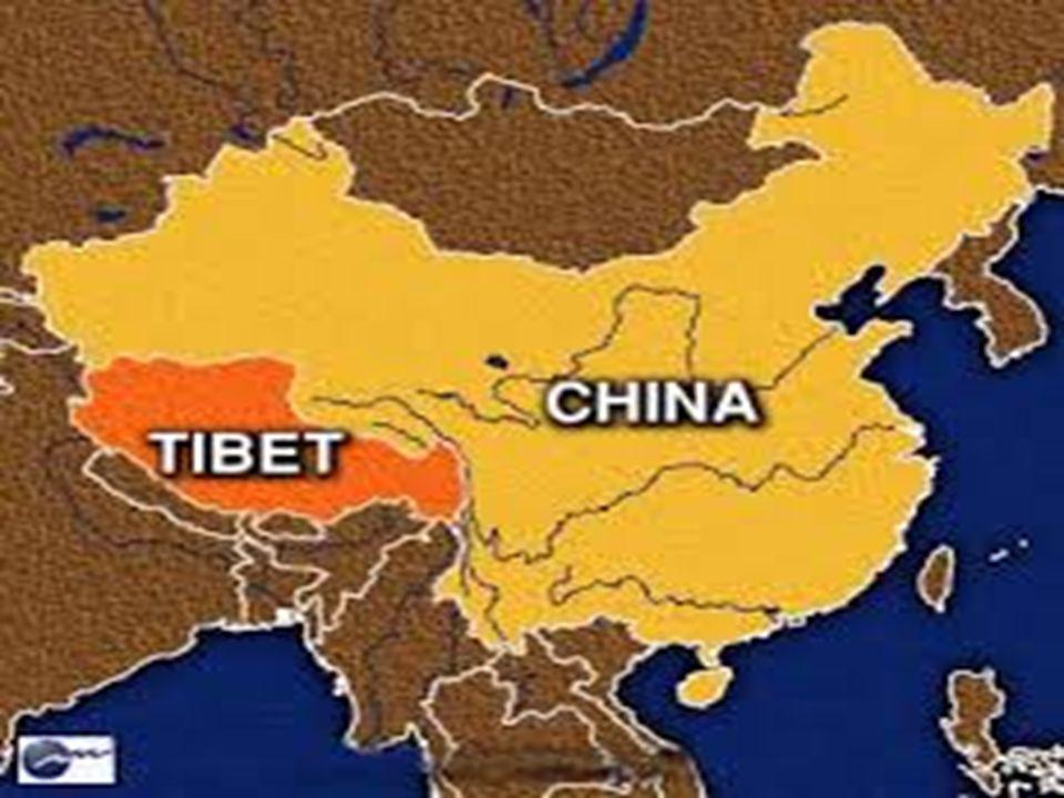 Základní informace Tibet je historické území ve střední Asii.