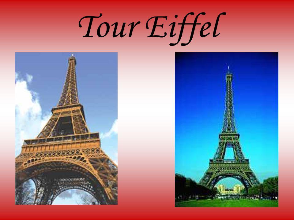 Eiffelova věž Navrhl ji Gustave Eiffel Byla postavena pro Světovou výstavu v roce 1889 a zároveň u příležitostí stého výročí Velké Francouzské revoluce Do roku 1931 byla nejvyšší stavbou světa (324 metrů)