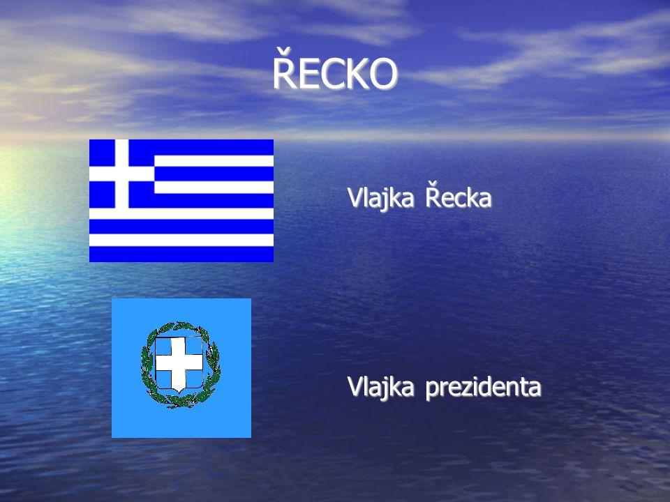 ŘECKO Vlajka Řecka Vlajka prezidenta