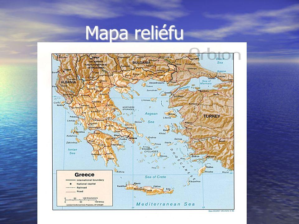 Řecko Patří mezi nejstarší státní útvary.