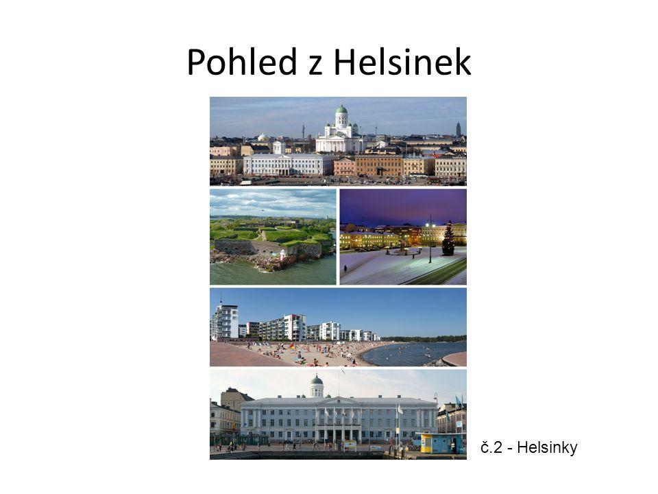 Pohled z Helsinek č.2 - Helsinky