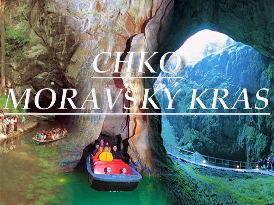  Moravský kras je největší a nejlépe vyvinutá krasová oblast v České republice.