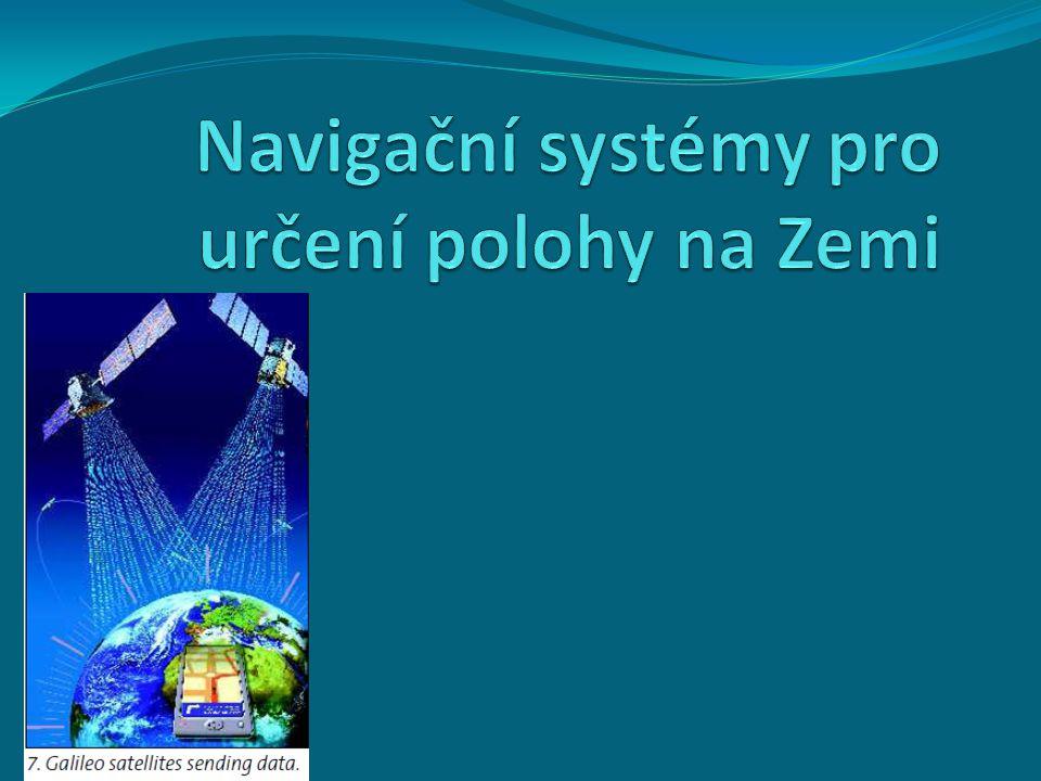 Definice globálních navigačních polohových systémů je systémem umožňující uživatelům určit polohu na Zemi s celosvětovým pokrytím za pomoci družic.družic Uživatelé této služby používají malé elektronické radiové přijímače, které na základě odeslaných signálů z družic umožňují vypočítat jejich polohu s přesností na desítky až jednotky metrů.