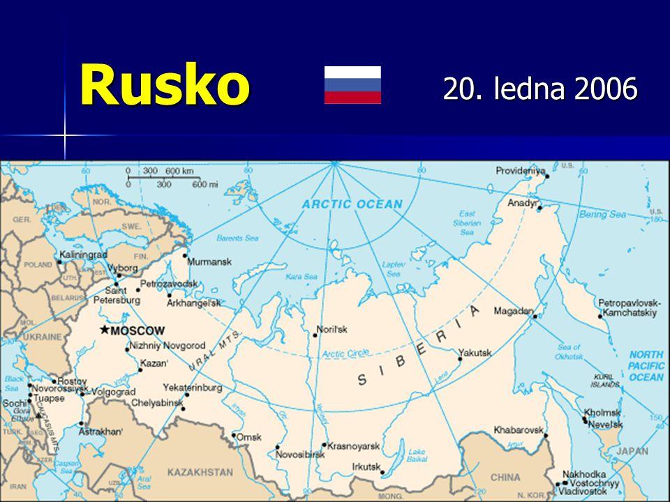 Rusko největší stát světa dle rozlohy největší stát světa dle rozlohy 6.