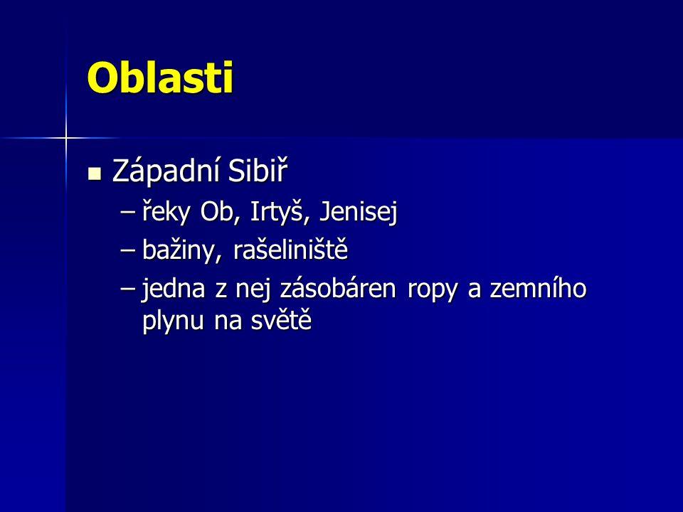 Východní Sibiř Východní Sibiř –hornatá –j.