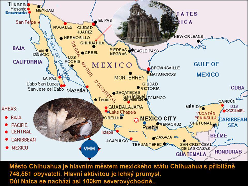 Město Chihuahua je hlavním městem mexického státu Chihuahua s přibližně 748,551 obyvateli.