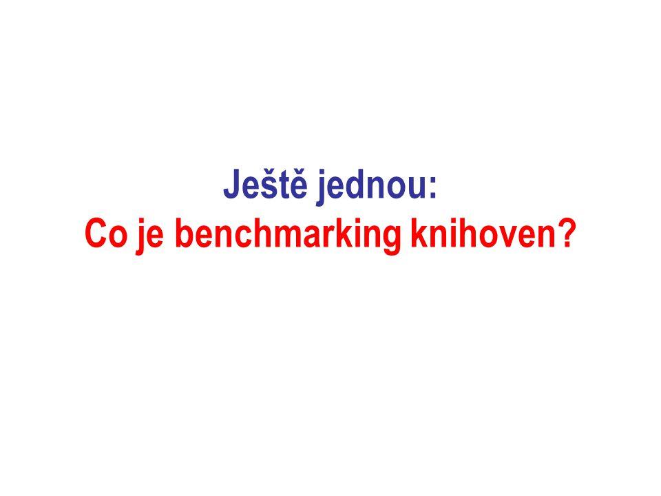 """Projekt """"Benchmarking knihoven příprava, postup, výběr indikátorů"""