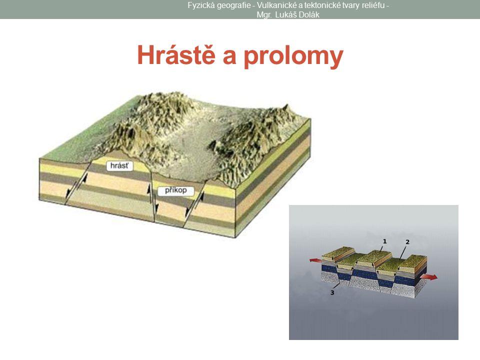 Hrástě a prolomy Fyzická geografie - Vulkanické a tektonické tvary reliéfu - Mgr. Lukáš Dolák