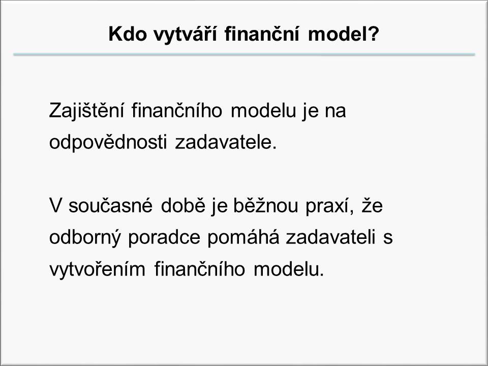 VŠFS Správa veřejného majetku Ing.Rudolf F. Heidu Kdo vytváří finanční model.