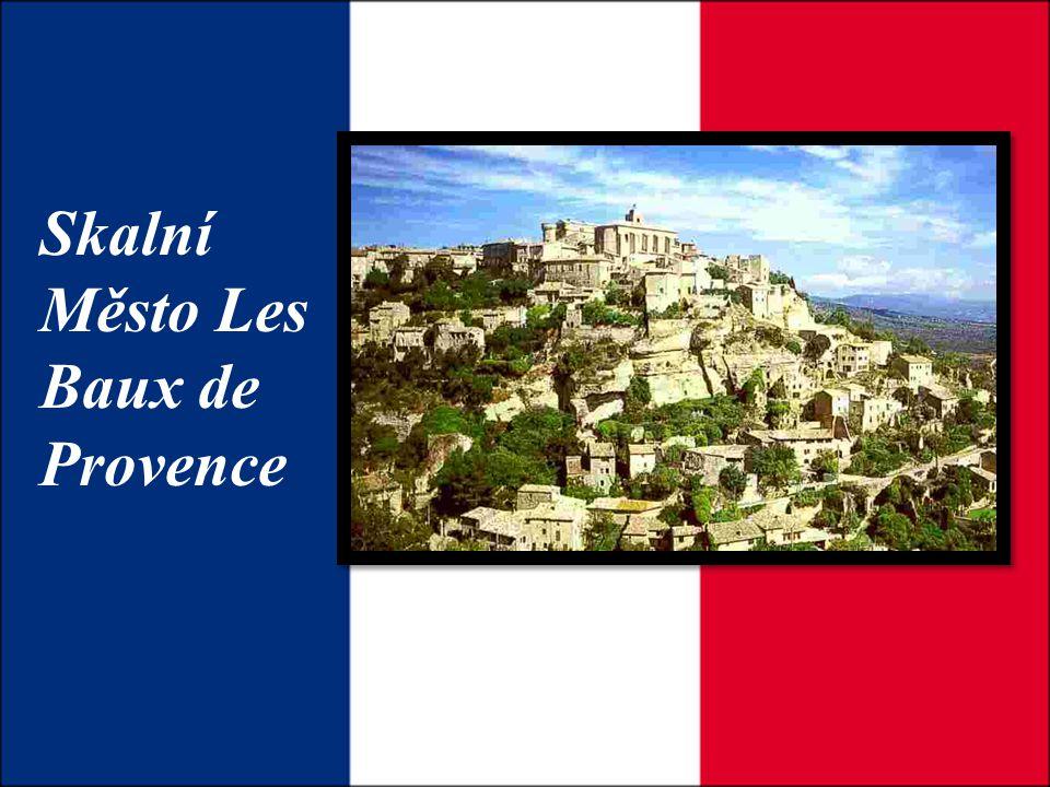 Skalní Město Les Baux de Provence