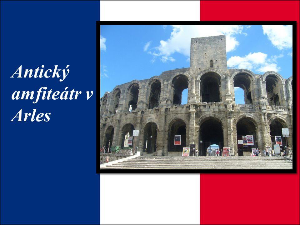 Antický amfiteátr v Arles