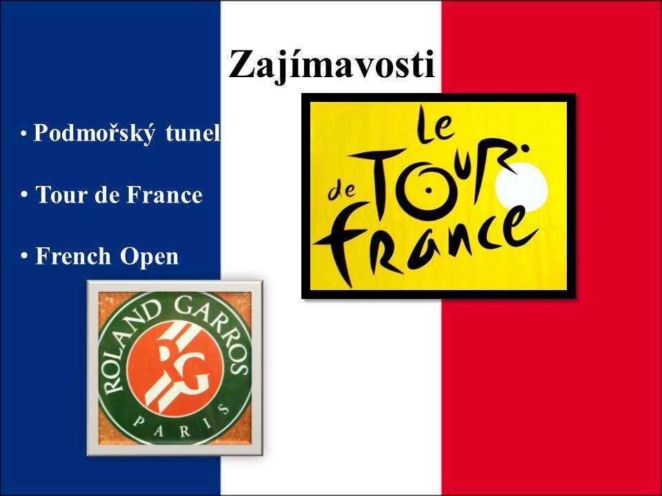 Zajímavosti Podmořský tunel Tour de France French Open