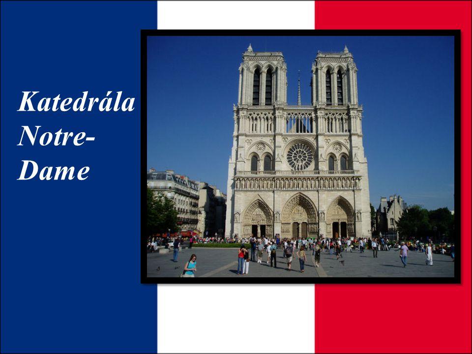 Katedrála Notre- Dame