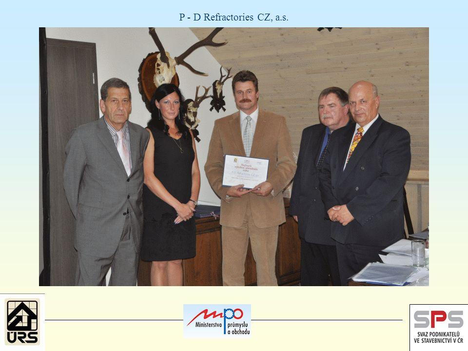 P - D Refractories CZ, a.s.