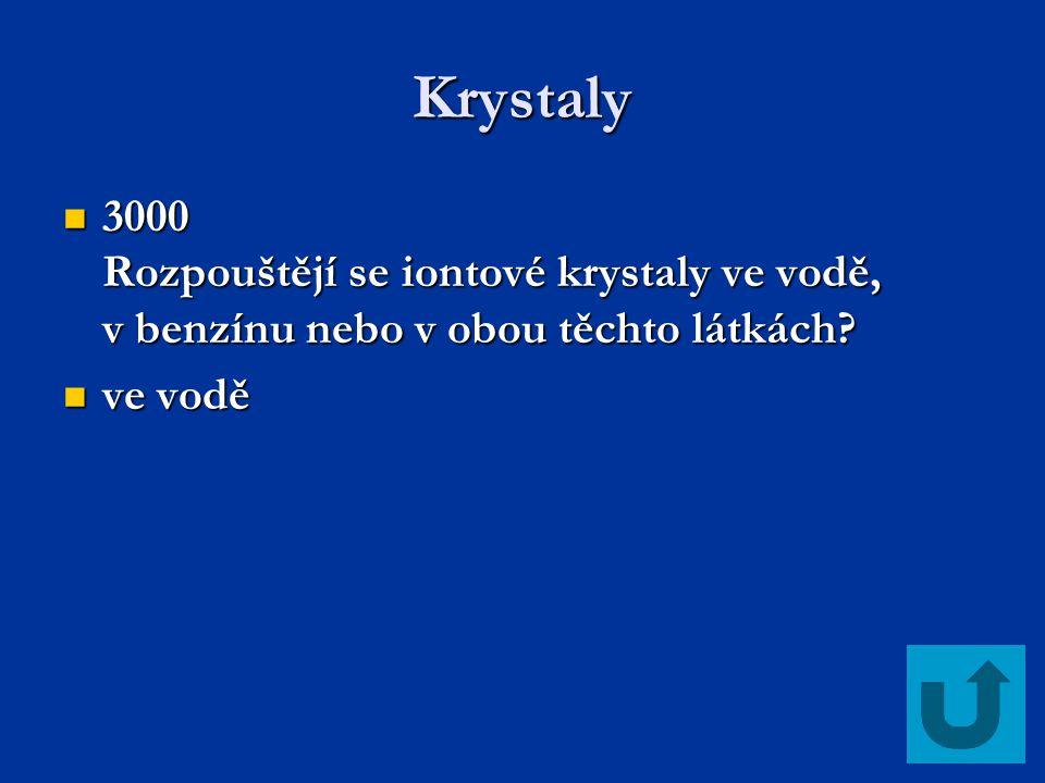Krystaly 4000 Vysvětlete rozdíl mezi látkou amorfní a krystalickou, ke každé z nich uveďte jeden příklad.