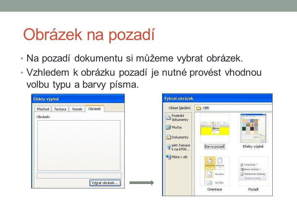 Ohraničení stránky Další možností vylepšení vzhledu stránky je vytvoření ohraničení pomocí čar, křivek, obrázků.