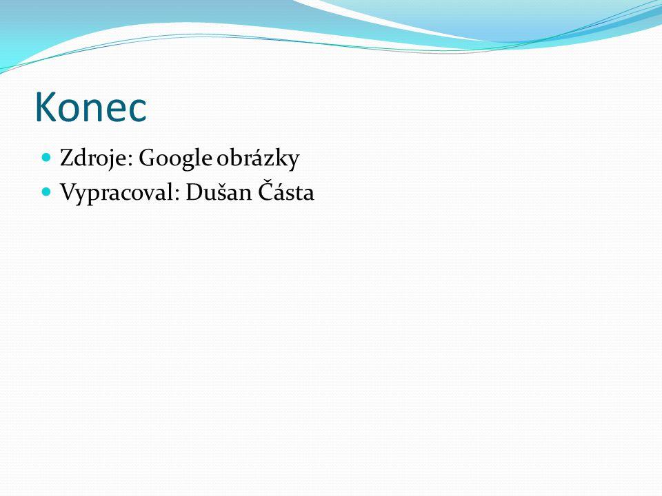 Konec Zdroje: Google obrázky Vypracoval: Dušan Částa
