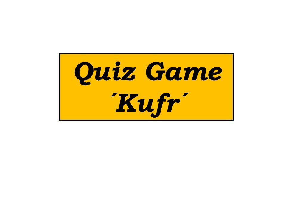 Quiz Game ´Kufr´