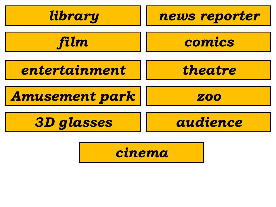audience3D glasses zoo theatre Amusement park entertainment comicsfilm news reporterlibrary cinema