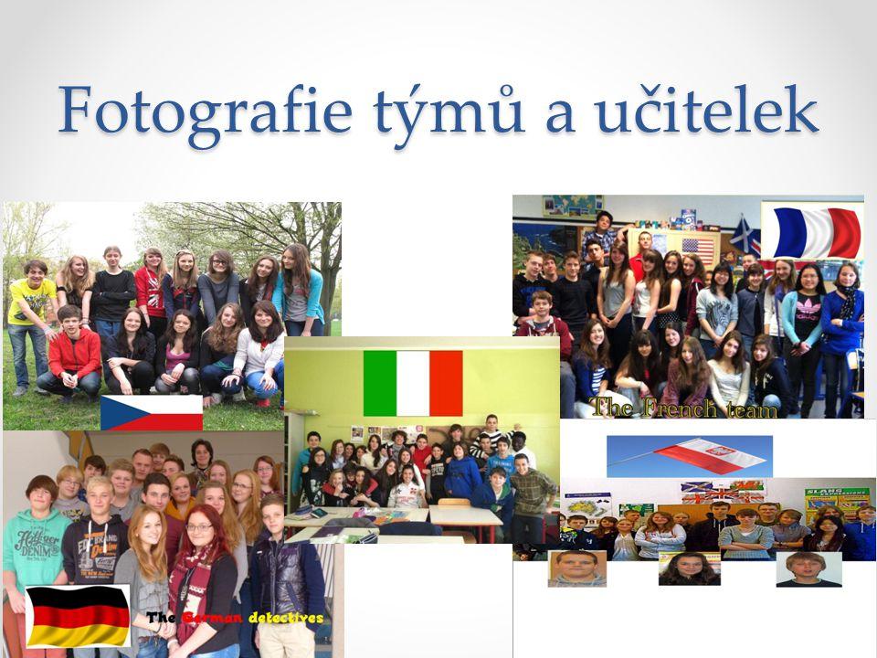 Fotografie týmů a učitelek