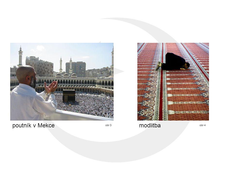 poutník v Mekce obr 3obr 4 modlitba