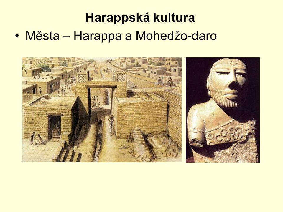 Harappská kultura Města – Harappa a Mohedžo-daro