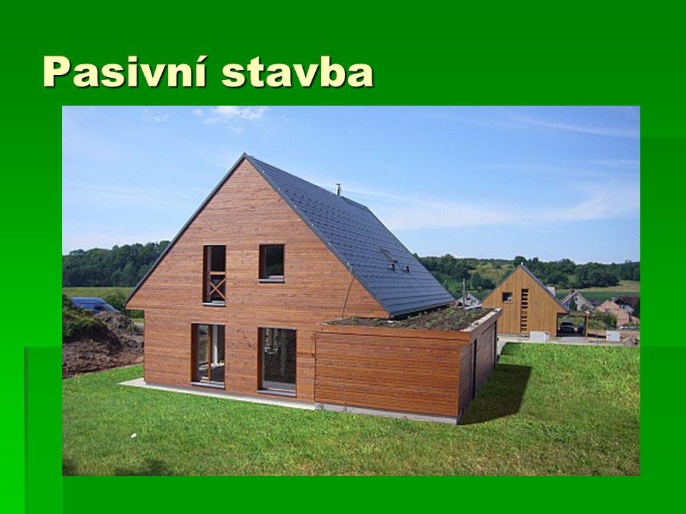 Pasivní stavba