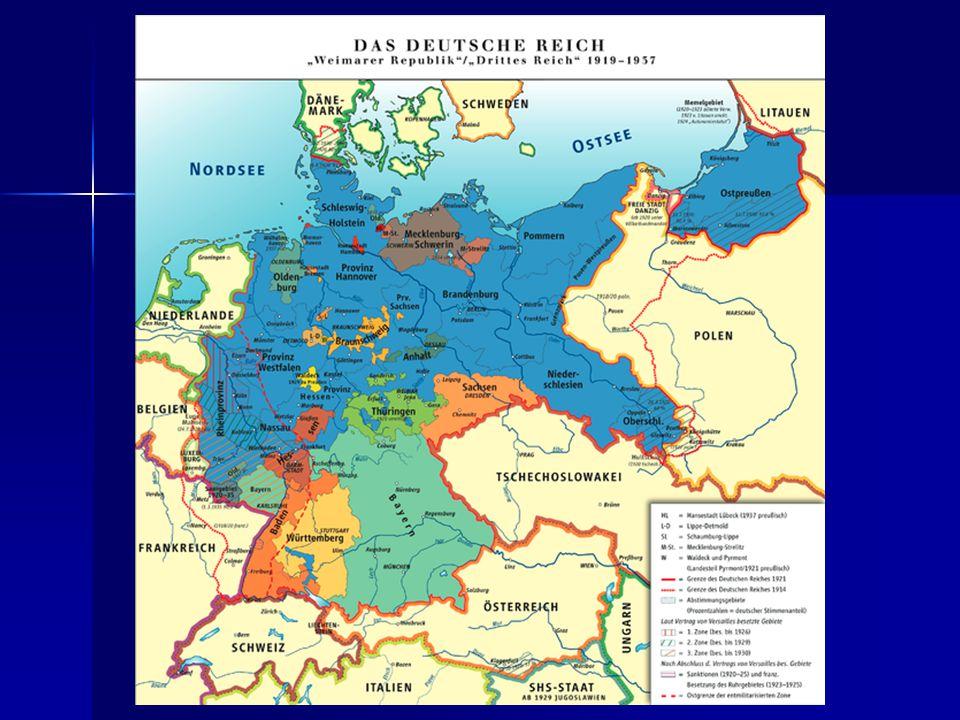Závěr Pocitu národní křivdy po versailleském míru dokázal zneužít Adolf Hitler Pocitu národní křivdy po versailleském míru dokázal zneužít Adolf Hitler Nacionalismus, rasismus, revanšismus, šovinismus Nacionalismus, rasismus, revanšismus, šovinismus Teorie o germánské nadřazenosti, snaha o revizi versailleské smlouvy Teorie o germánské nadřazenosti, snaha o revizi versailleské smlouvy