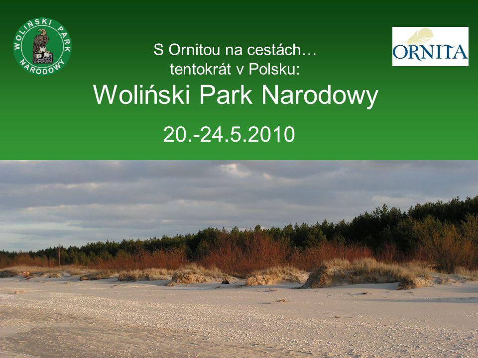 Woliński Park Narodowy (WPN) na ostrově Wolin na pobřeží Baltského moře (u ústí řeky Odry) založen v roce 1960 (1.