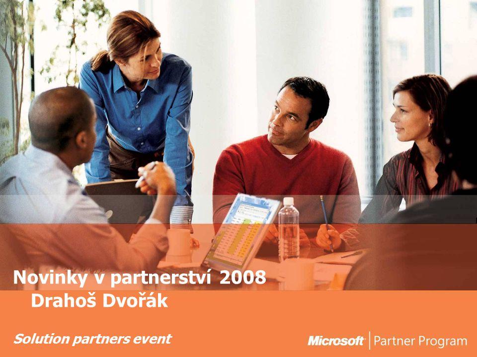 Solution partners event Novinky v partnerství 2008 Drahoš Dvořák
