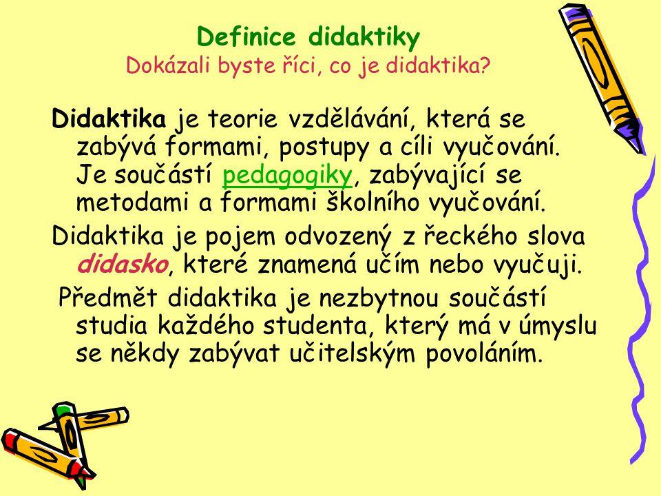 Didaktika Hv - troška historie Didaktika a její formování bylo a je odrazem situace v současné hudební výchově.