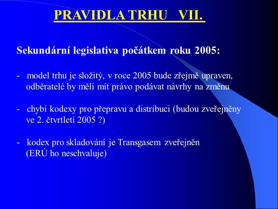 PRAVIDLA TRHU VII.