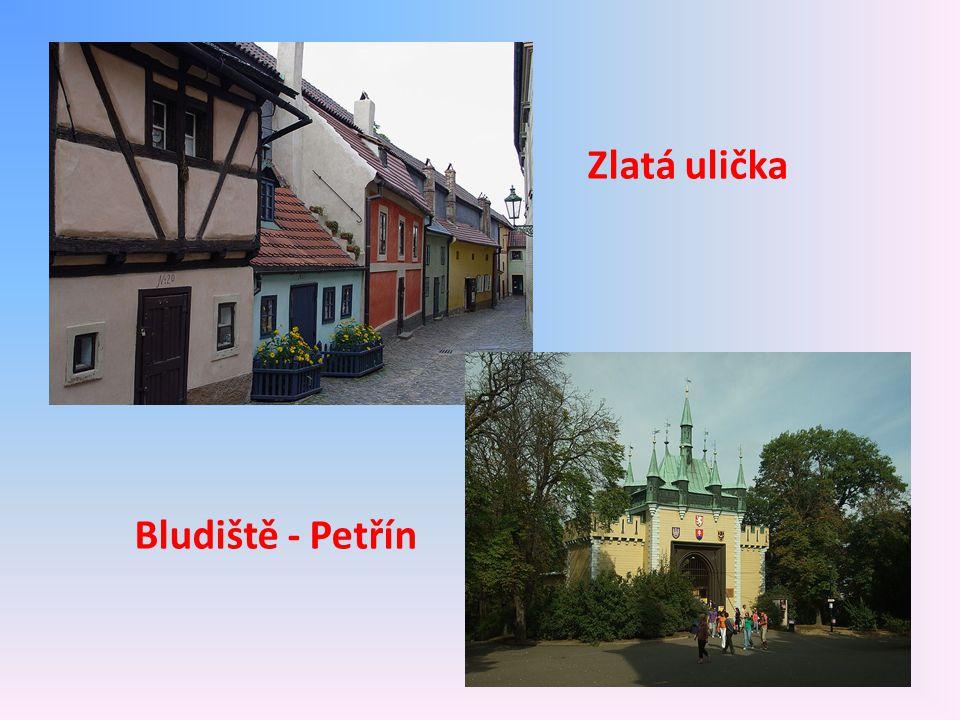 Zlatá ulička Bludiště - Petřín