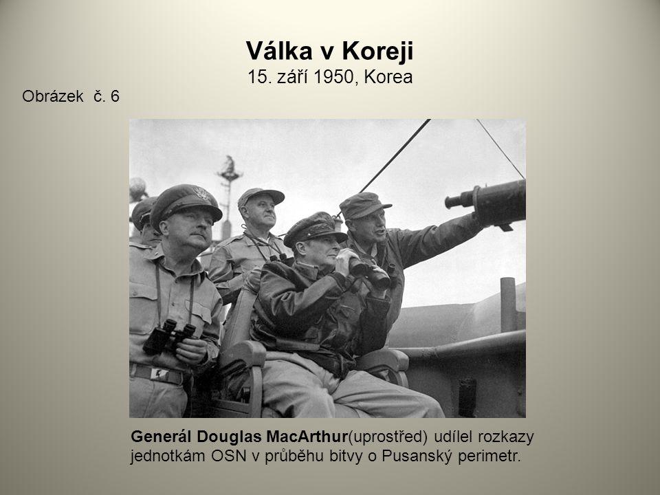 Válka v Koreji 15.září 1950, Korea Obrázek č.