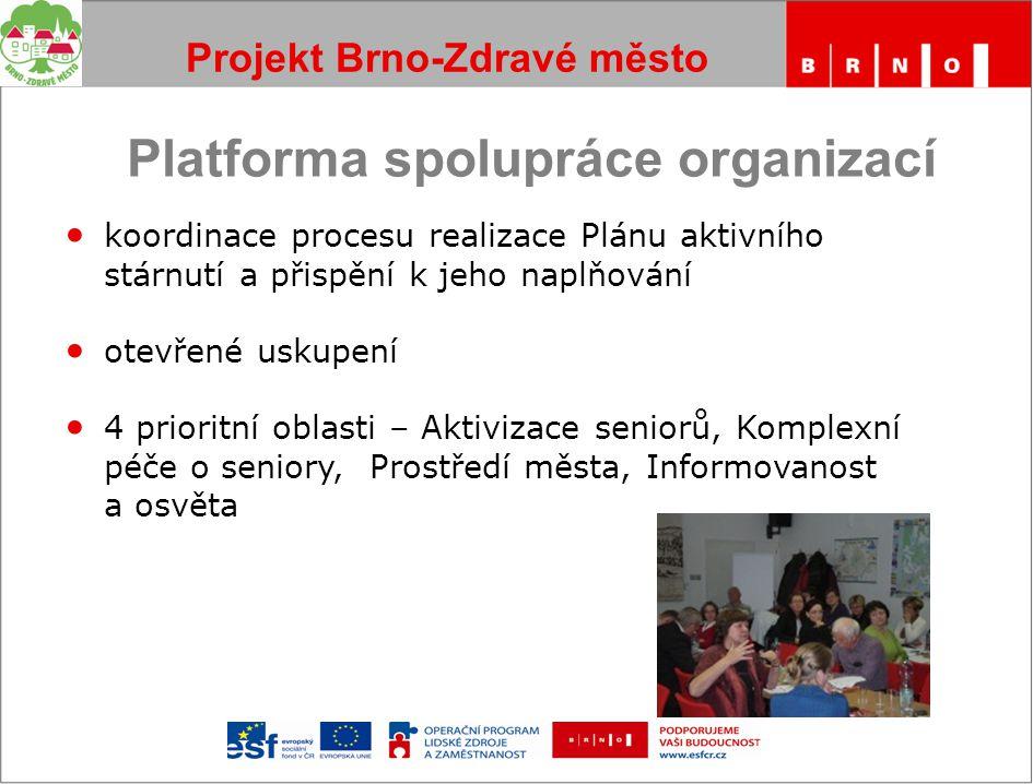 Projekt Brno-Zdravé město Děkuji za pozornost Pavlína Kocourková Kancelář Brno-Zdravé město MMB kocourkova.pavlina@brno.cz www.zdravemesto.brno.cz