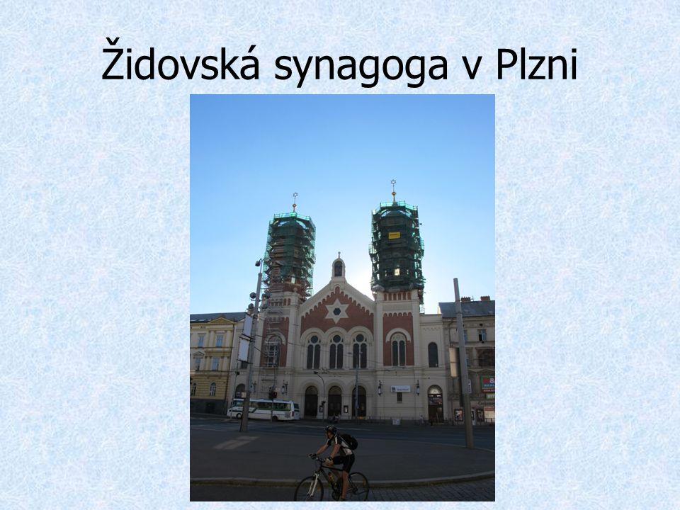 Židovská synagoga v Plzni