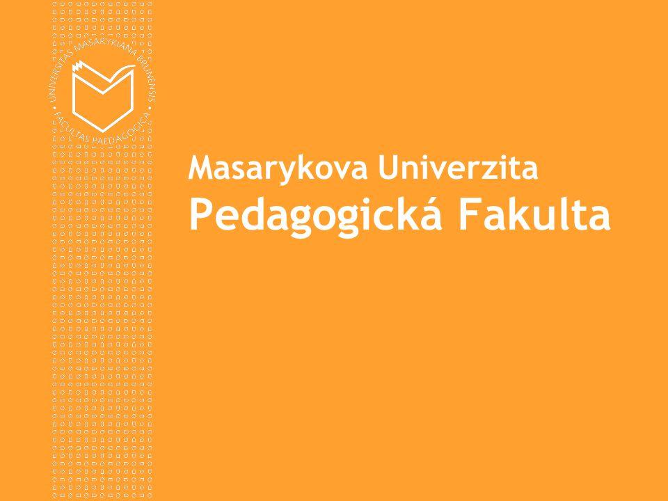 www.ped.muni.cz  Seminář se uskuteční 3.11.2011 ve dvou sekcích (1.