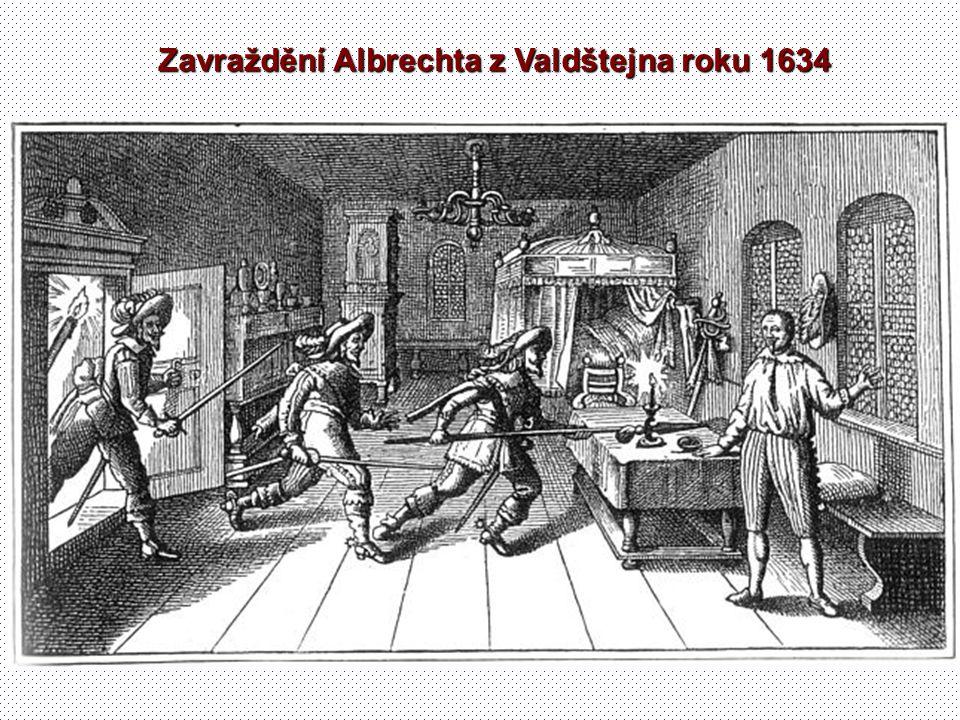 Zavraždění Albrechta z Valdštejna roku 1634