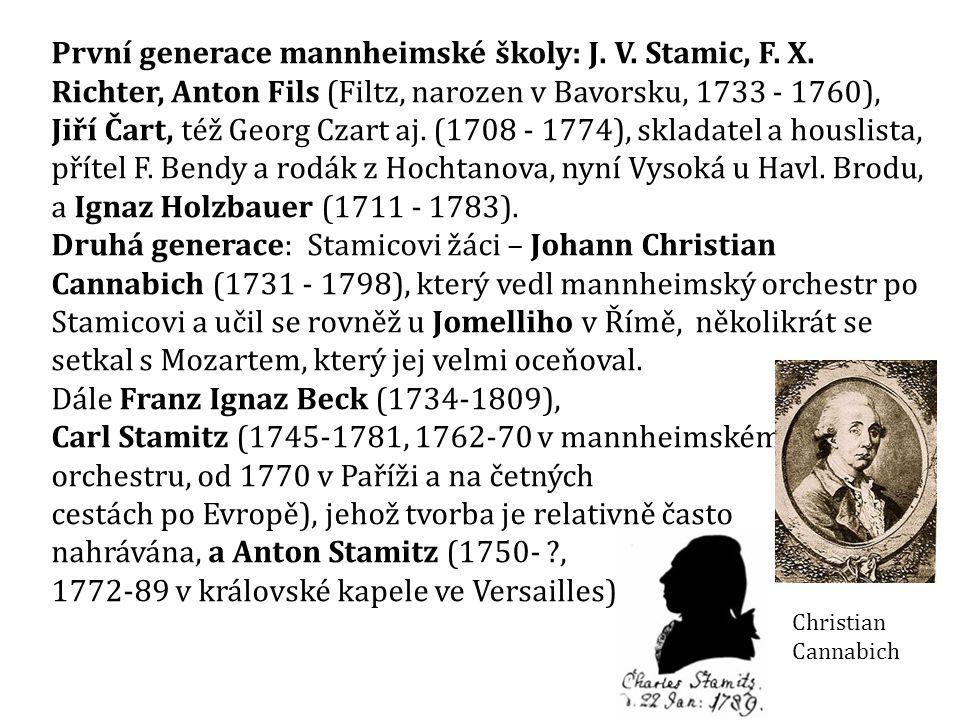 Giovanni Battista Sammartini (1700/01-1775)  sedmé z osmi dětí francouzského emigranta a hobojisty Alexise Saint-Martina a Girolamy de Federici  skladatel chrámové hudby, oper, serenat pro představitele vládnoucího habsburského dómu i místní šlechty a symfonií  od 30.