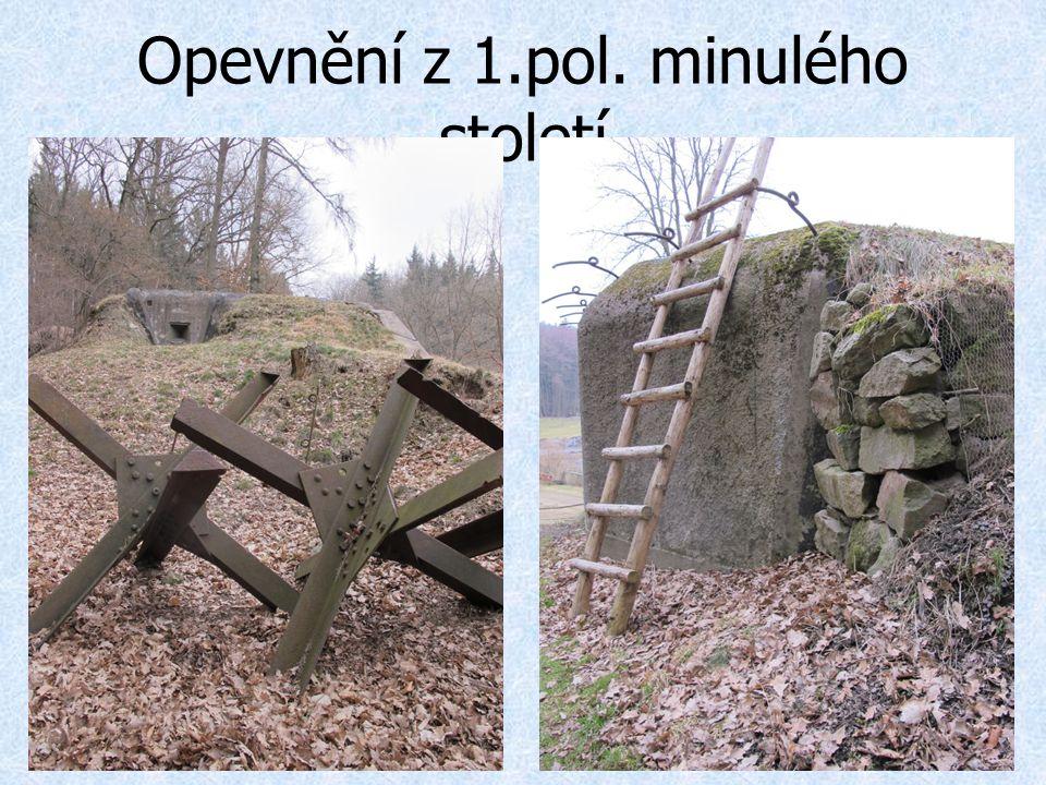 Opevnění z 1.pol. minulého století