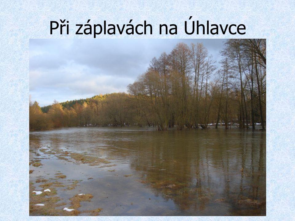 Při záplavách na Úhlavce