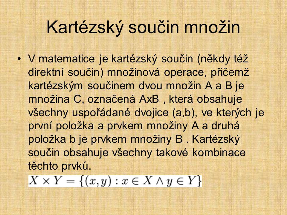 Binární relace v matematice