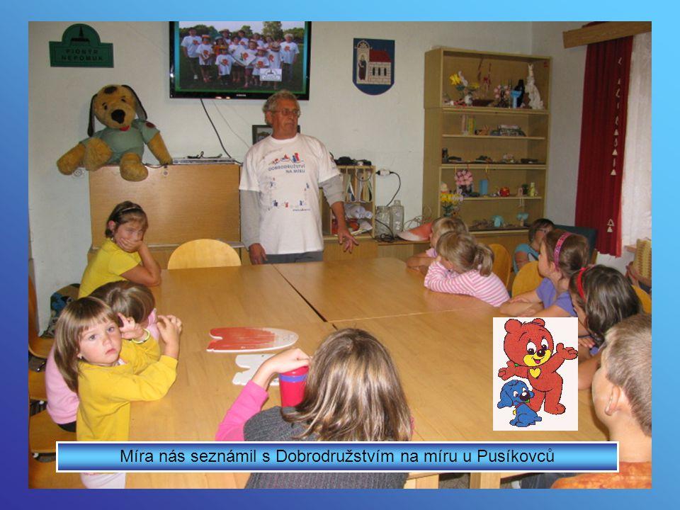 Více obrázků najdete na www.nepomuk.pionyr.cz Otevřené klubovny u Pionýrské skupiny Nepomuk září 2012