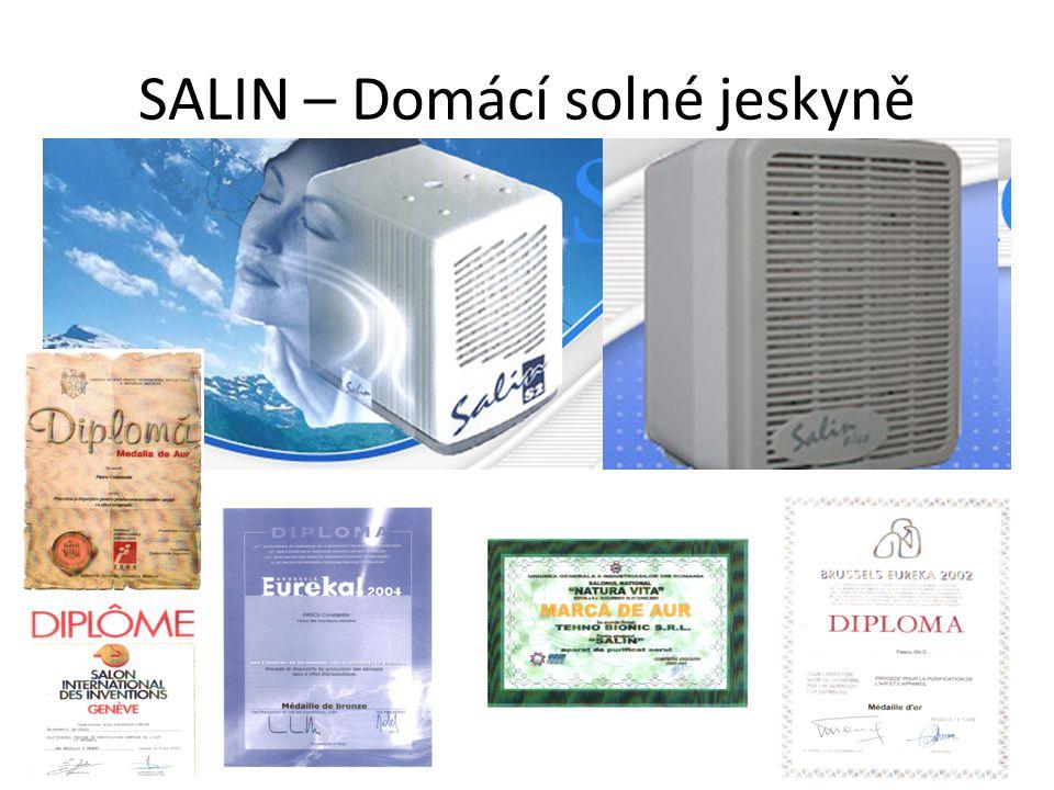SALIN – Domácí solné jeskyně