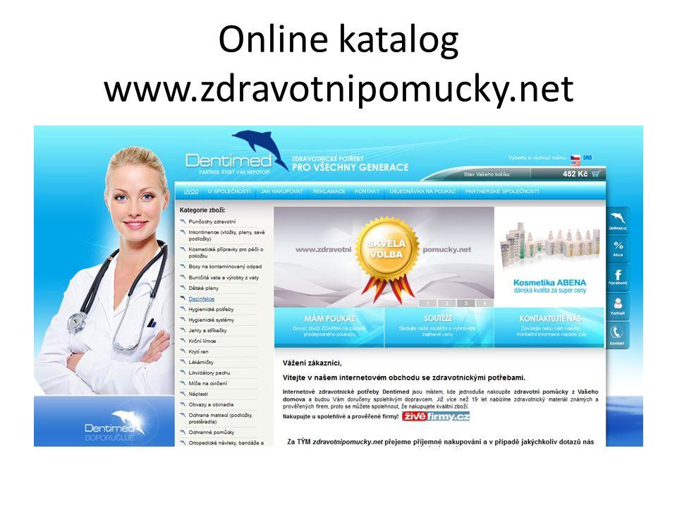 Online katalog www.zdravotnipomucky.net
